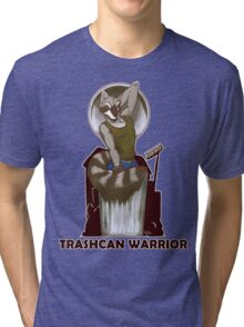 Trashcan Warrior Tri-blend T-Shirt
