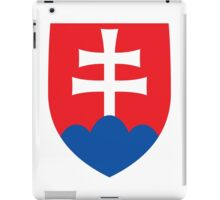 Roundel of the Slovak Air Force  iPad Case/Skin