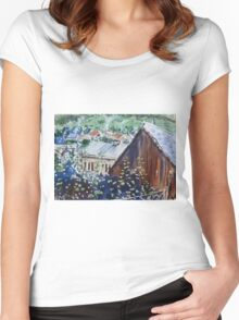 Rural Europe Women's Fitted Scoop T-Shirt