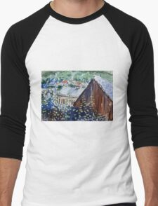 Rural Europe Men's Baseball ¾ T-Shirt