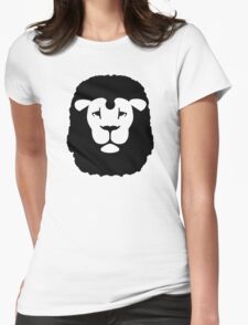 Lion head Womens Fitted T-Shirt