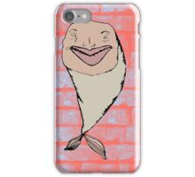 Fish on Bricks iPhone Case/Skin