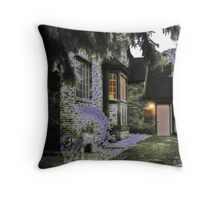 A Pretty House Throw Pillow