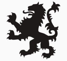 Lion heraldry Kids Tee