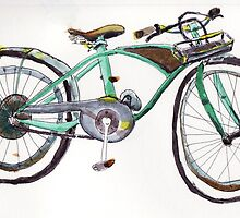 Cool Bike by P. Mark Anderson