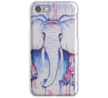 Water Color Elephant iPhone Case/Skin