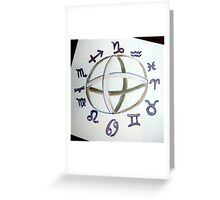 Signs Greeting Card
