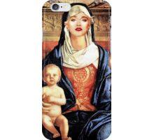 SAINT MADONNA iPhone Case/Skin