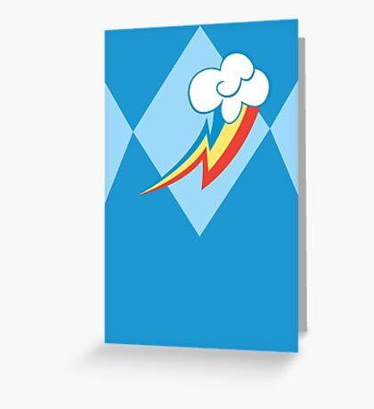 Mighty Morphin Power Pony - Loyalty! Greeting Card
