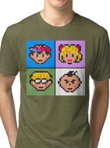 Earthbound squared Tri-blend T-Shirt