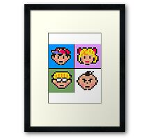 Earthbound squared Framed Print