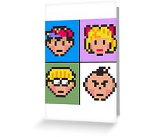 Earthbound squared Greeting Card