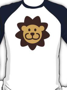 Comic lion head T-Shirt