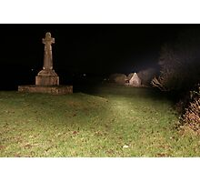 Dysert O'Dea at night Photographic Print