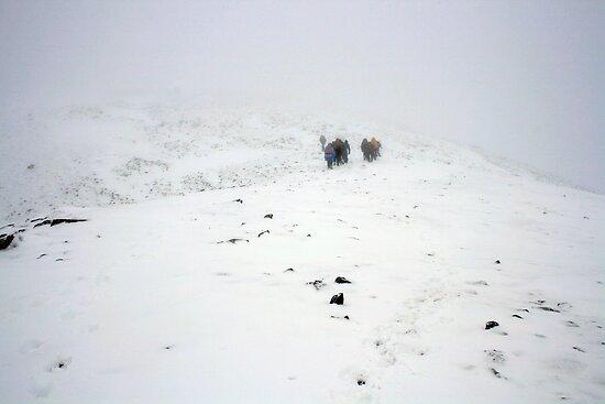 Climbing Carrauntoohil by John Quinn