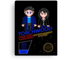 NINTENDO: NES Torchwood  Canvas Print