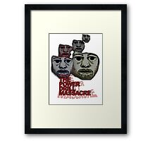 Power Drill Massacre (psychedelic) Framed Print