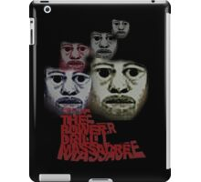 Power Drill Massacre (psychedelic) iPad Case/Skin