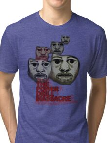 Power Drill Massacre (psychedelic) Tri-blend T-Shirt