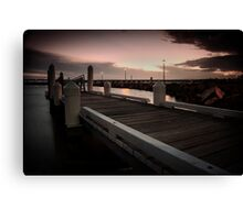 Forster Jetty Canvas Print