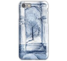 around the clock- Midnight moon iPhone Case/Skin