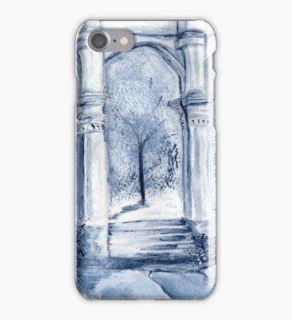 around the clock- Midnight moon iPhone Case/Skin