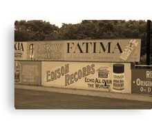 Old Time Baseball Field Canvas Print