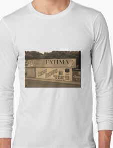 Old Time Baseball Field Long Sleeve T-Shirt