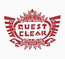 MONSTER HUNTER 4 - QUEST CLEAR by bluerockerzoo