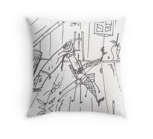 DARLING, I LOVE YOU(C2007) Throw Pillow
