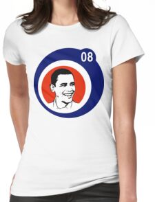 obama 08 : circles Womens Fitted T-Shirt