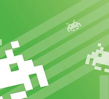 Retro Games: Space Invaders by EmuToons