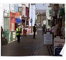 Caernarvon Street Scene Poster