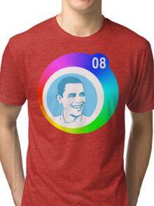 obama 08 : circles Tri-blend T-Shirt