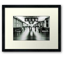 Terminal 1 Framed Print
