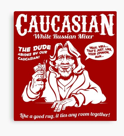 Caucasian Mixer Canvas Print