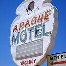 Route 66 - Apache Motel in Tucumcari by Frank Romeo