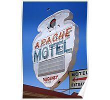 Route 66 - Apache Motel in Tucumcari Poster
