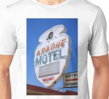 Route 66 - Apache Motel in Tucumcari Unisex T-Shirt
