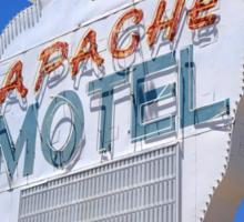 Route 66 - Apache Motel in Tucumcari Sticker