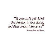 Teaching skeletons to dance... (Amazing Sayings) by gshapley