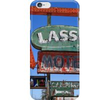 Route 66 - Lasso Motel iPhone Case/Skin