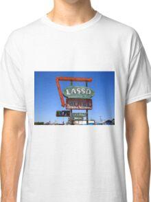 Route 66 - Lasso Motel Classic T-Shirt