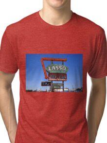 Route 66 - Lasso Motel Tri-blend T-Shirt