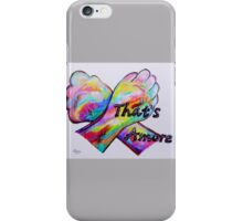 American Sign Language - That's Amore! iPhone Case/Skin