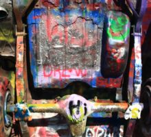 Route 66 - Cadillac Ranch Sticker