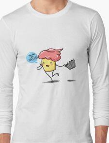 Naughty cupcake Long Sleeve T-Shirt