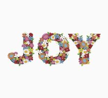 JOY Spring Flowers Kids Tee