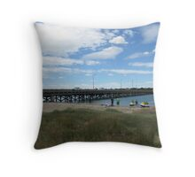Bridge Over the River Barwon Throw Pillow