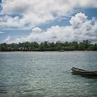 Canoeing at Muri Beach by yolanda